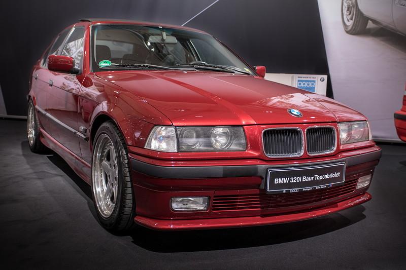 BMW 320i Baur Topcabriolet TC4 (E36), Baujahr: 1992, 310 produzierte Einheiten