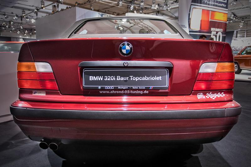 BMW 320i Baur Topcabriolet TC4 (E36), Heckansicht