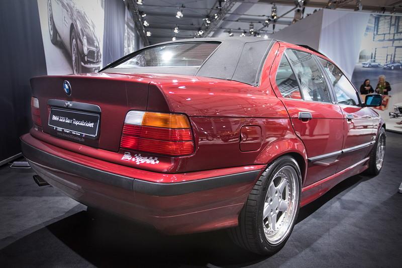 BMW 320i Baur Topcabriolet TC4 (E36), mit 6-Zylinder-Reihenmotor, 150 PS