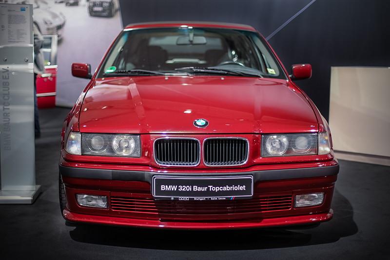 BMW 320i Baur Topcabriolet TC4 (E36), die Kundschaft fand nur wenig Gefallen an dem Auto und führte die Firma BAUR in die Insolvenz