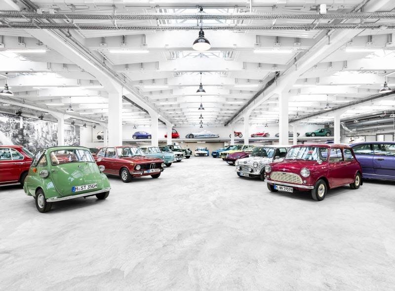 Fahrzeugsammlung in der BMW Group Classic, München
