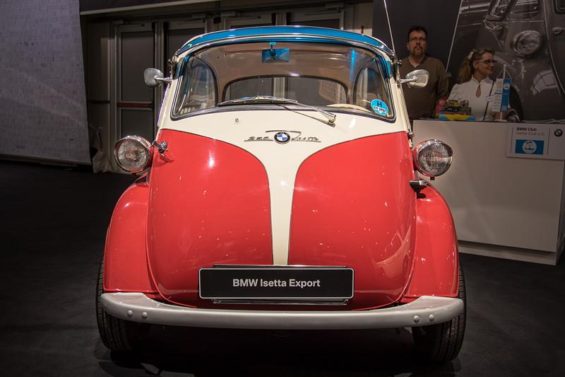 BMW Isetta 250 Export, 1-Zylinder-Motor mit 12 PS bei 5.800 U/Min.