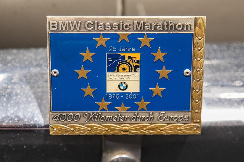 BMW LS Luxus, Plakette BMW Classic Marathon