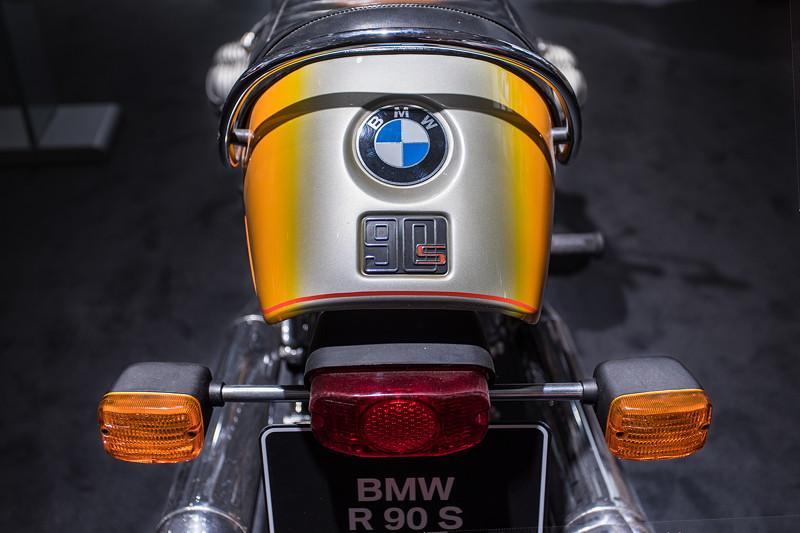 BMW R 90 S, 2-Zylinder Boxermotor mit 67 PS