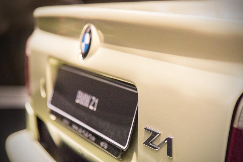 BMW Z1, Typ-Bezeichnung auf der Heckklappe