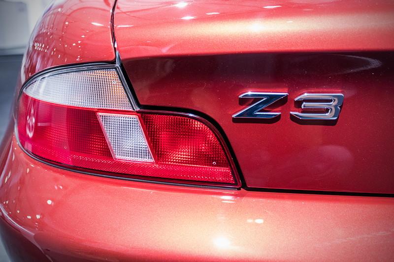 BMW Z3 roadster 3.0i, Typ-Bezeichnung auf der Heckklappe