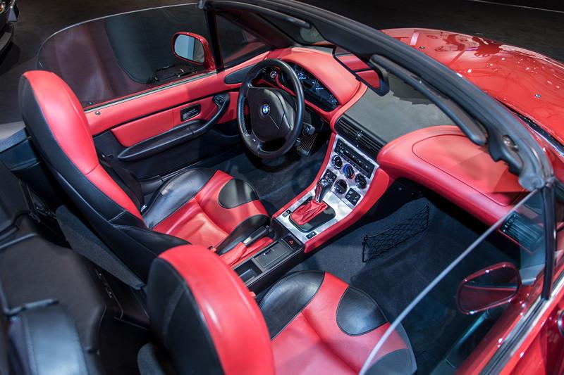 BMW Z3 roadster 3.0i, Innenraum