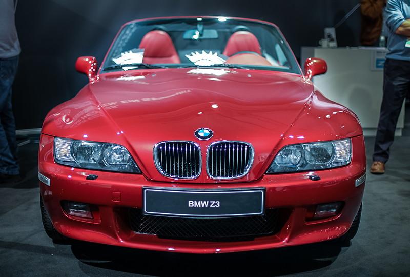BMW Z3 roadster 3.0i, 6-Zylinder-Reihenmotor mit 231 PS