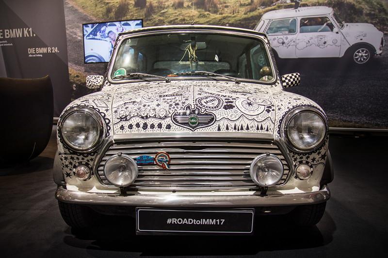Mini classic Cooper Road to IMM17, Baujahr: 2000, ehemaliger Neupreis: 9.895 Pfund