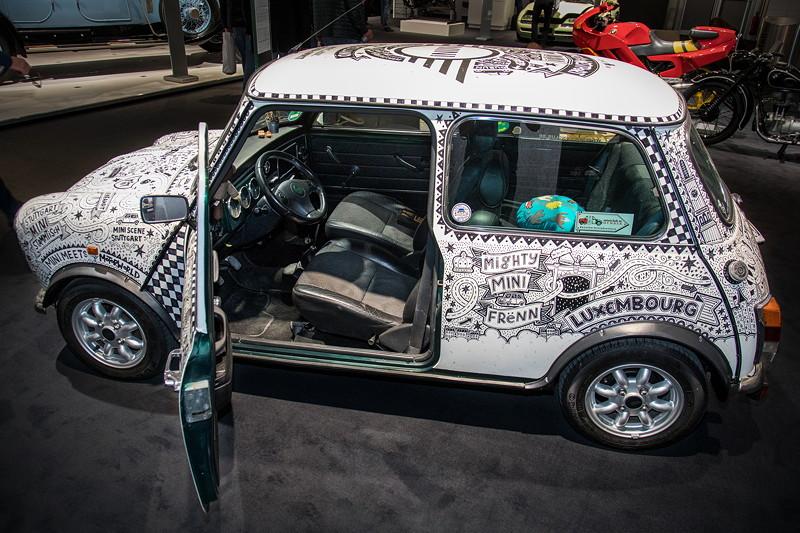 Mini classic Cooper Road to International Mini Meeting 2017