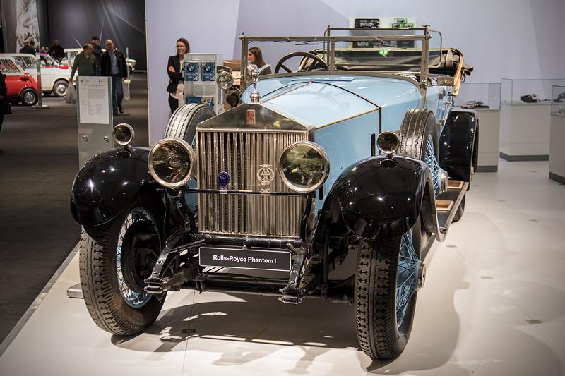 Rolls-Royce Phantom I Open Tourer Windovers, Baujahr: 1926, 2.212 produzierte Einheiten