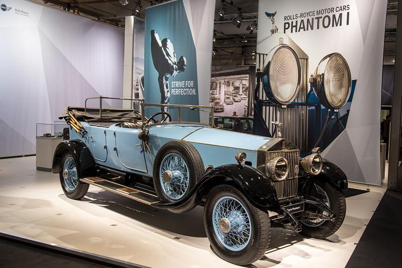 Rolls-Royce Phantom I Open Tourer Windovers, 6-Zylinder 7,7-Liter-Reihenmotor mit 100 PS bei 2.250 U/Min.