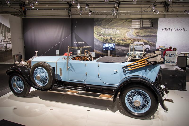 Rolls-Royce Phantom I Open Tourer Windovers, 2.800 kg schwer, ca. 145 km/h schnell