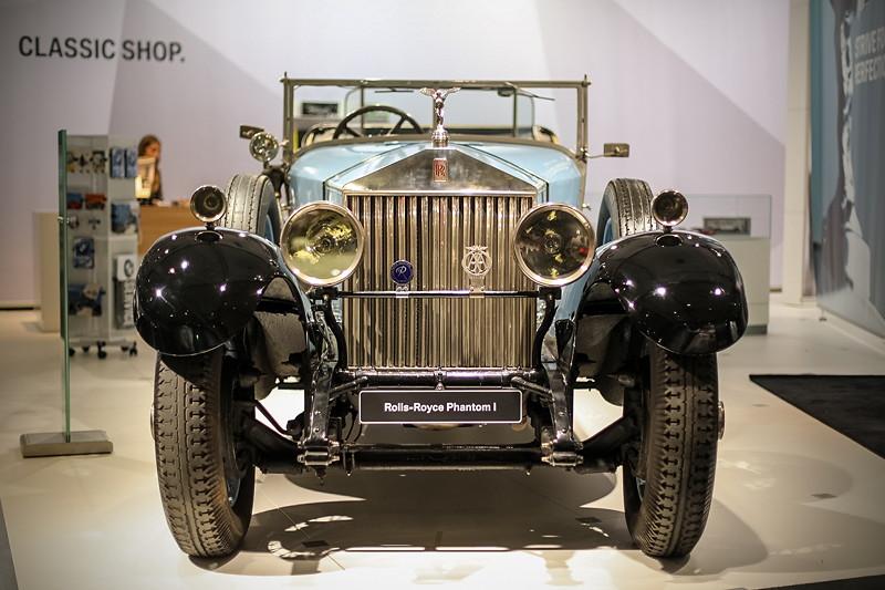 Rolls-Royce Phantom I Open Tourer Windovers, Karosserie vom Londoner Karosseriebauers Windovers