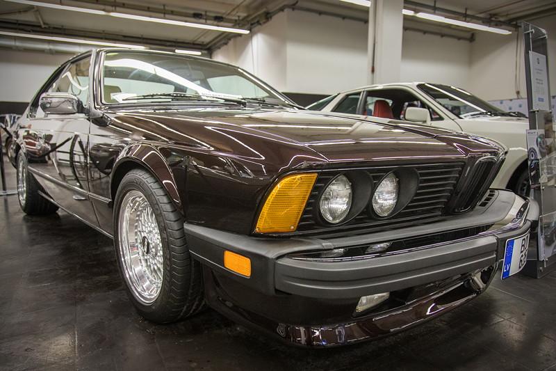 BMW 635CSi (E24) aus Litauen, mit amerikanischer Stoßstange