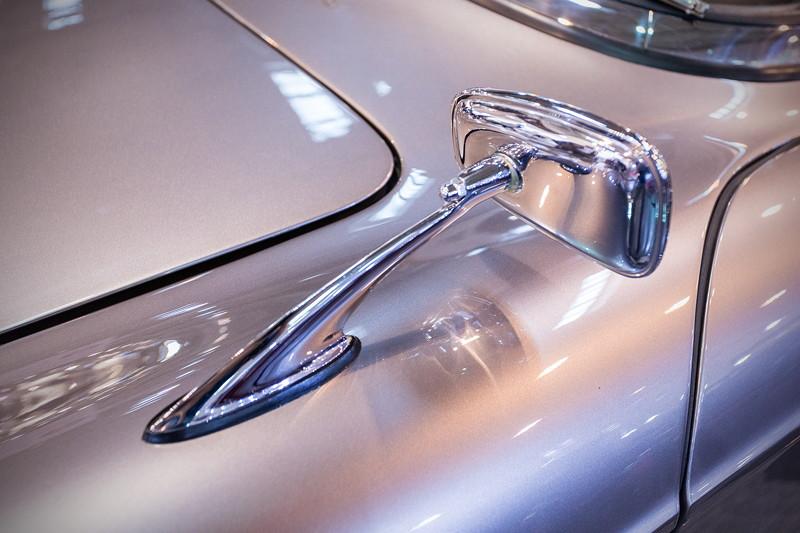 BMW 507, Aussenspiegel