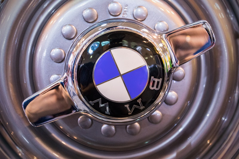 BMW 507, Radabdeckung