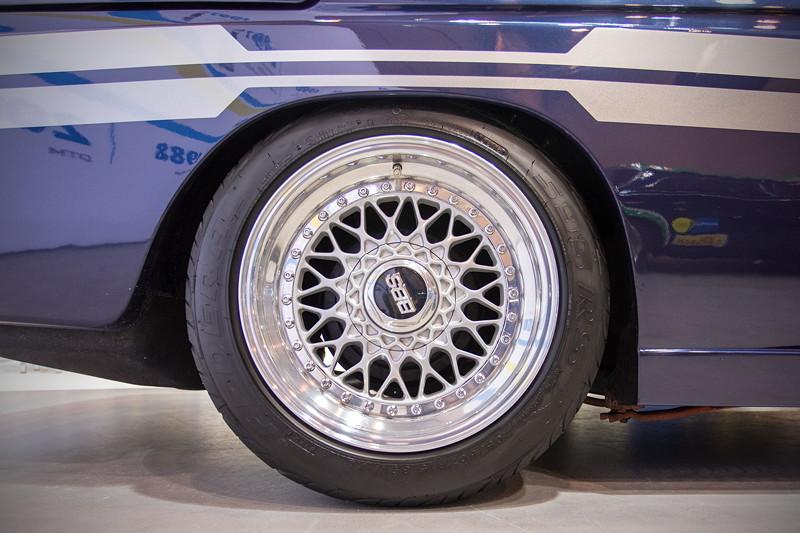 BMW Alpina 02er auf BBS Felgen