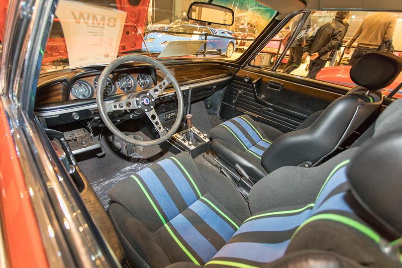 BMW Alpina 3,0 CS, Innenraum