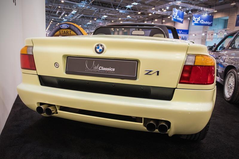 BMW Z1 roadster, 6-Zylinder-Reihenmotor mit 170 PS