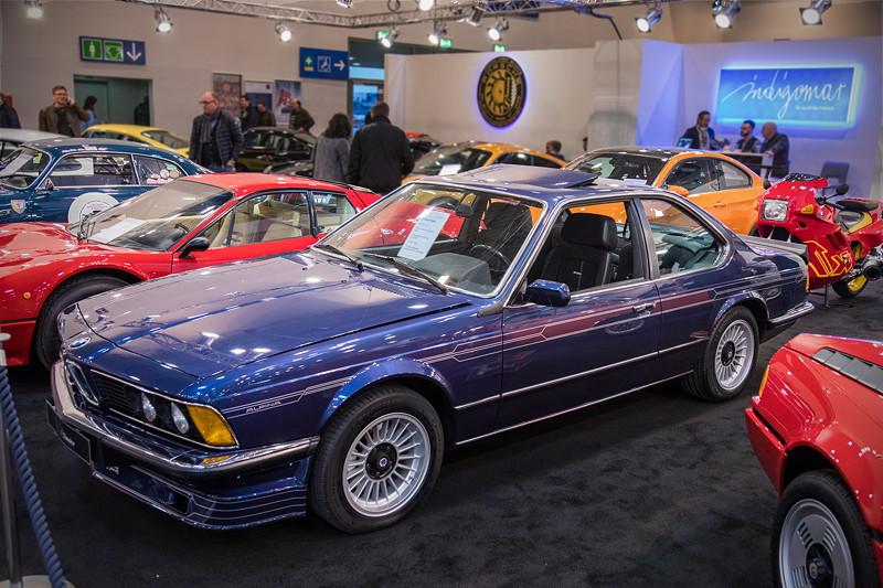 BMW Alpina B7 S Turbo Coupé, das Auto wurde in der S-Version ab 1982 nur 30mal gebaut.