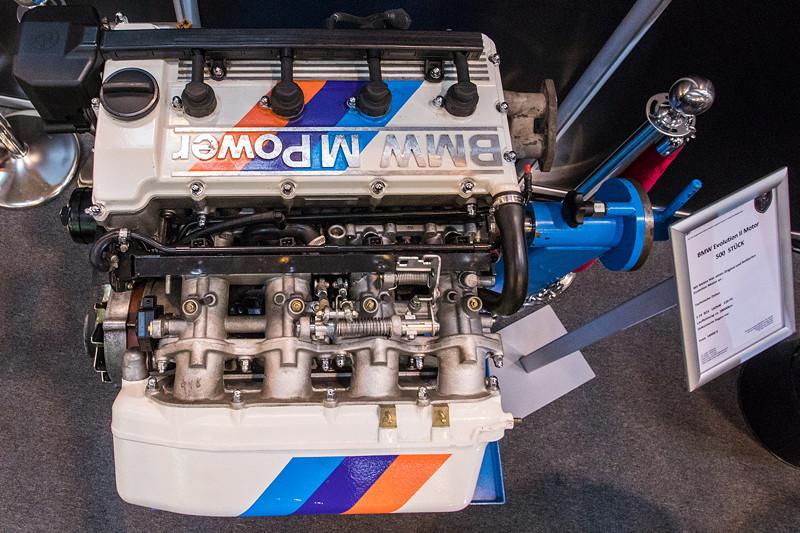 BMW Evolution II Motor (S14 B23), einer von nur 500 gebauten Motoren, 220 PS, Laufleistung: ca. 28.000 km, Preis: 18.900 Euro