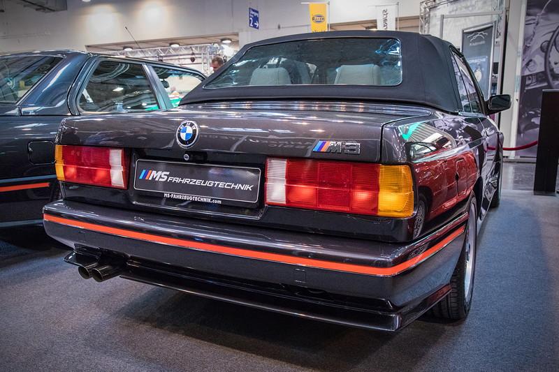BMW M3 Cabrio (E30). Auch dieses Auto wurde bereits am Previewtag der Techno Classica verkauft.
