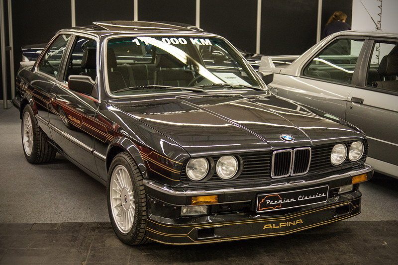 BMW Alpina B6 2.8 (E30), in diamantschwarz metallic