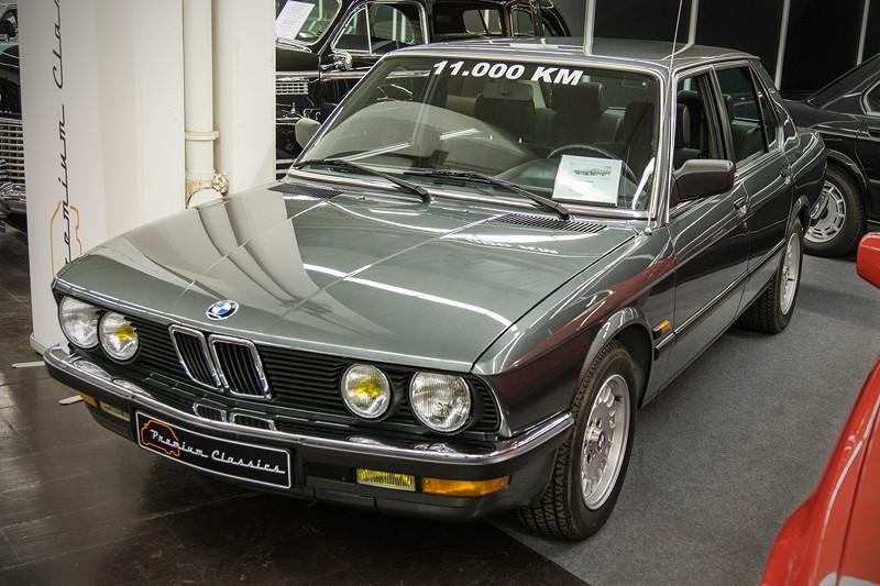 BMW 528i (E28), Baujahr: 1987, 11.000 km, 150 PS, Preis: 26.950 Euro