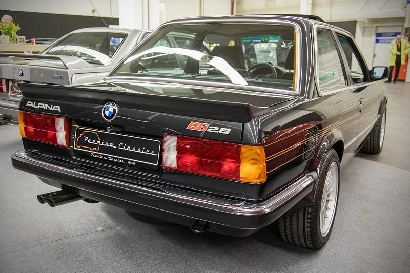 BMW Alpina B6 2.8 (E30), auf dem Stand von 'Premium Classics'
