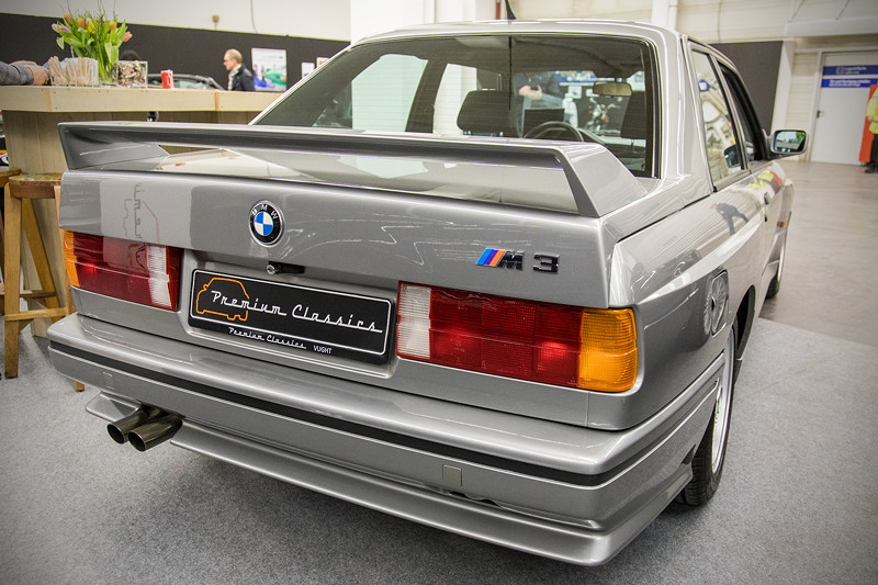 BMW M3 (E30) in Lachssilber metallic, Sammlerstück, 3 Vorbesitzer