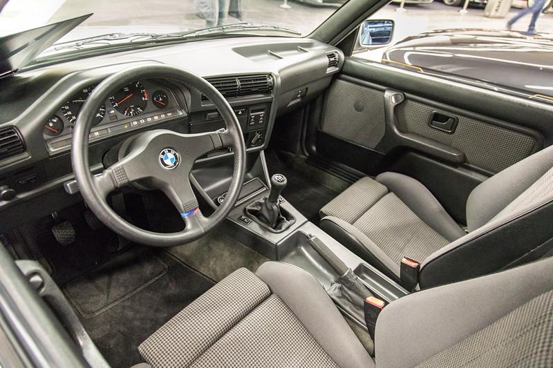 BMW M3 (E30), Innenraum