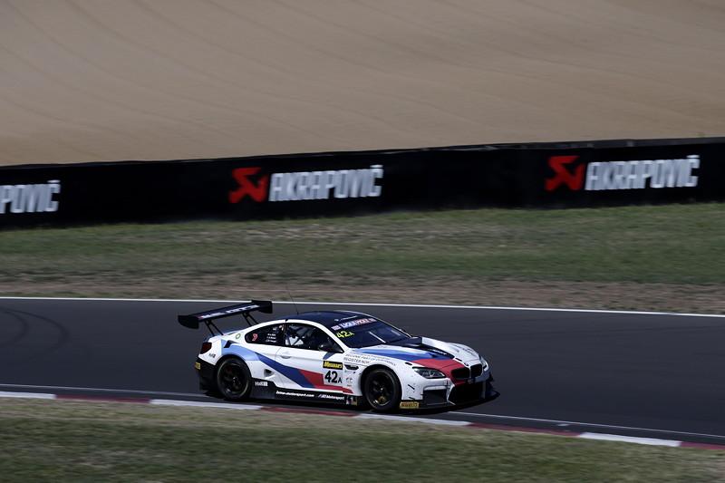 Bathurst (AUS), 03.02.2019, 12 Std.-Rennen, Augusto Farfus (BRA), Chaz Mostert (AUS), Martin Tomczyk (GER), BMW M6 GT3 #42, BMW Team Schnitzer.