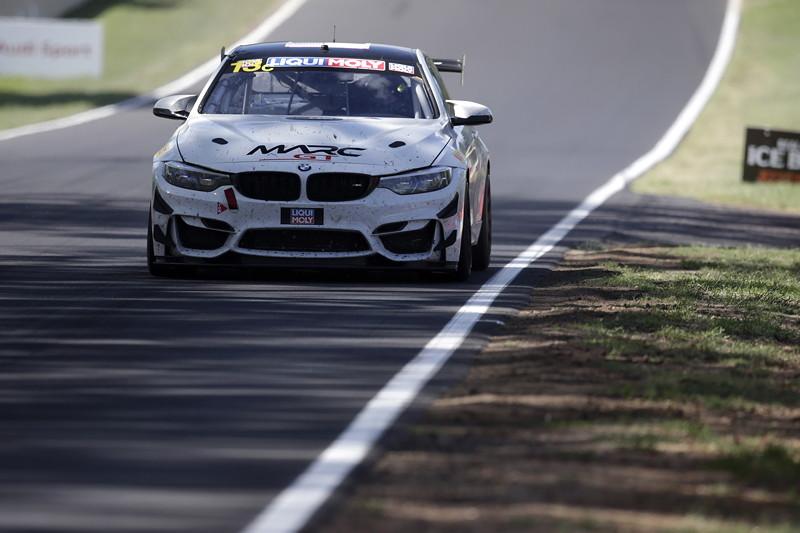 Bathurst (AUS), 03.02.2019, 12 Std.-Rennen, Daren Eric Jorgensen (USA), Brett Strom (USA), Gerard McLeod (AUS), BMW M4 GT4 #13, RHC-Jorgensen/Strom by MarcGT.