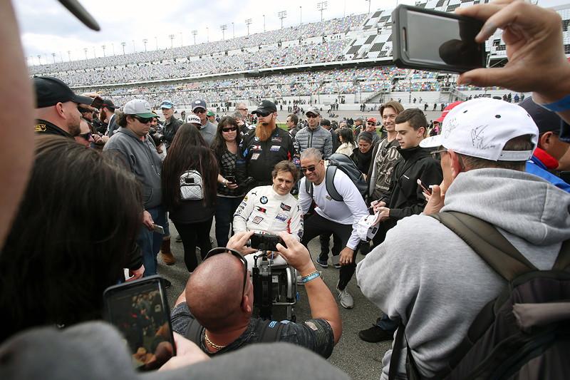27.01.2019, IMSA WeatherTech Sportscar Championship 2019, Daytona International Speedway. Alessandro Zanardi (ITA), BMW M8 GTE #24, BMW Team RLL.