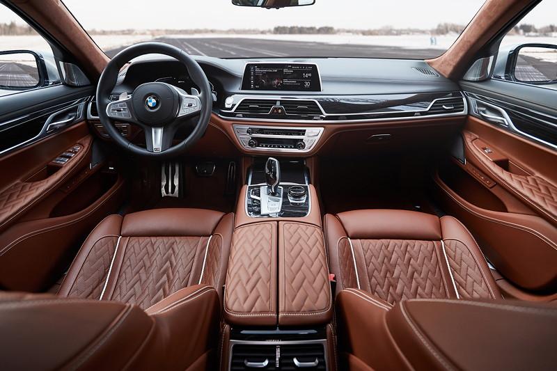BMW 745Le, Interieur