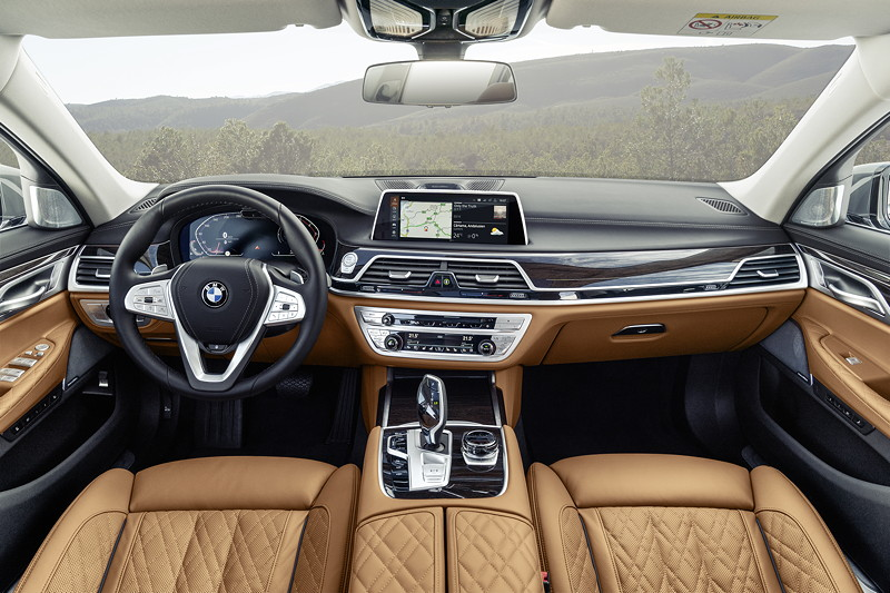 BMW 750Li xDrive (G12 LCI), Interieur