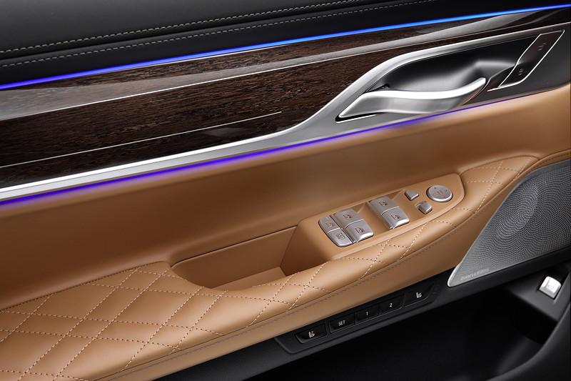 BMW 750Li xDrive (G12 LCI), ambientes Licht