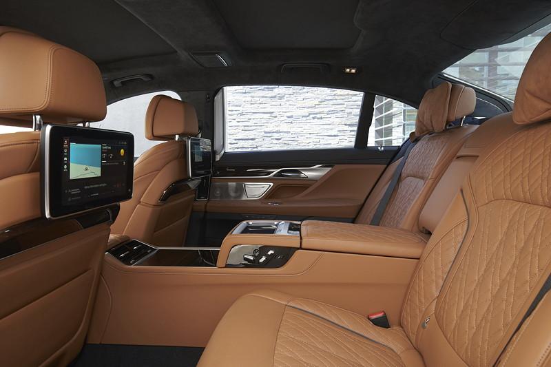BMW 750Li xDrive (G12 LCI), Fond mit Executive Lounge Seating