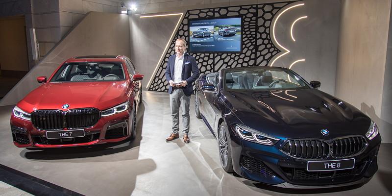 BMW 7er (G11/G12 LCI) und BMW 8er Cabrio, int. Presse Vorstellung in Portugal, Pressekonferenz