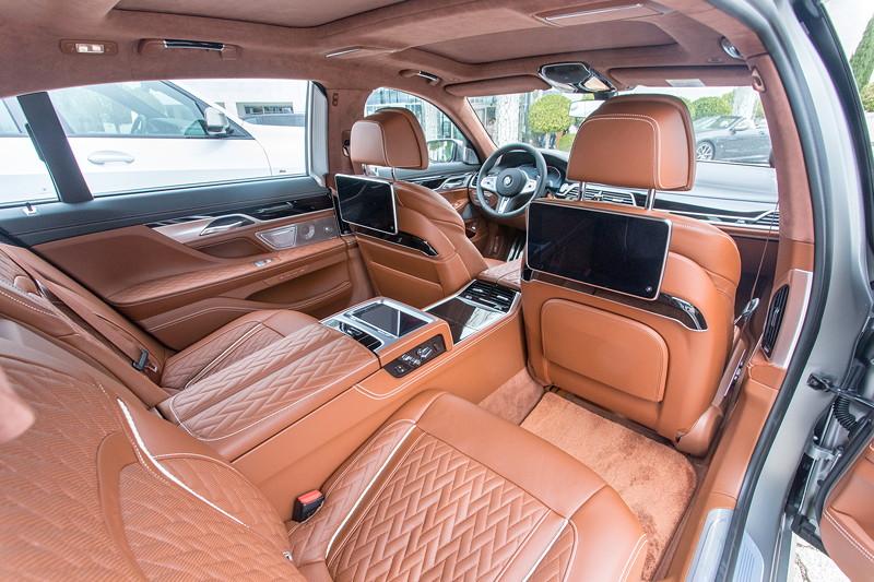 BMW M760Li xDrive (G12 LCI), Fond, mit Executive Lounge