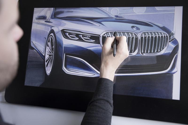 BMW 7er (G11/G12 Facelift 2019), Designprozess