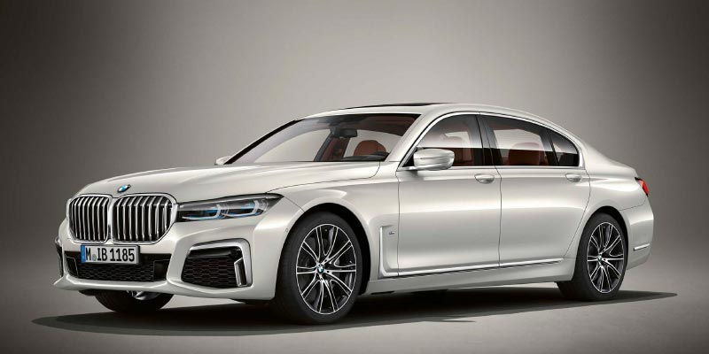 BMW M760Li in BMW Individual Brillant weiß metallic
