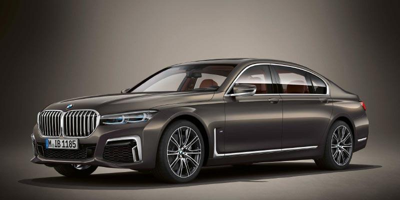 BMW M760Li in BMW Individual Dravit Grau metallic
