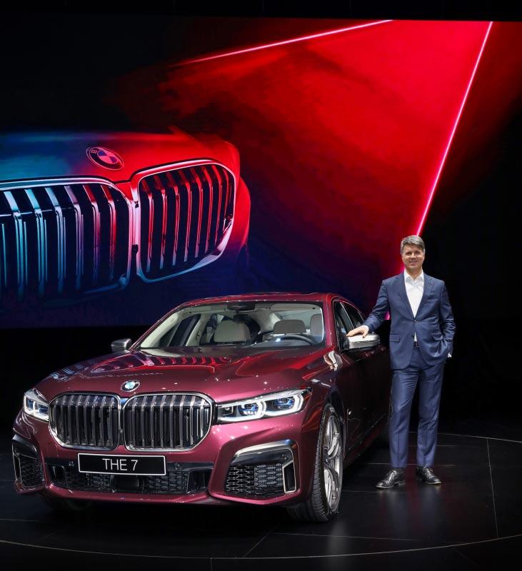 Weltpremiere der neuen BMW 7er Reihe am 16.01.2019 in Shanghai/China. Harald Krüger, Vorsitzender des Vorstands der BMW AG
