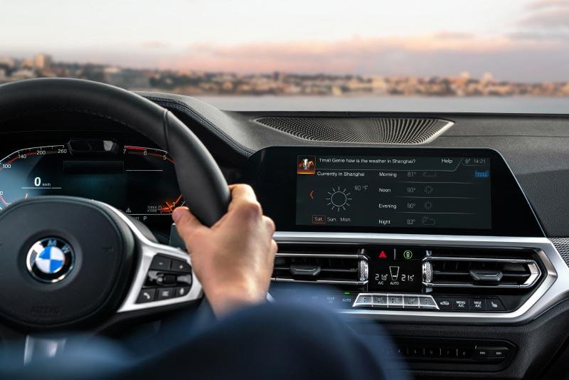 Alibaba Sprachassistenten in BMW Fahrzeuge.