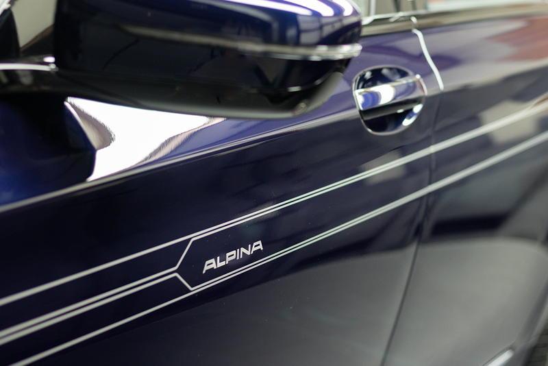 BMW Alpina B7 BiTurbo, seitlicher Alpina Schriftzug