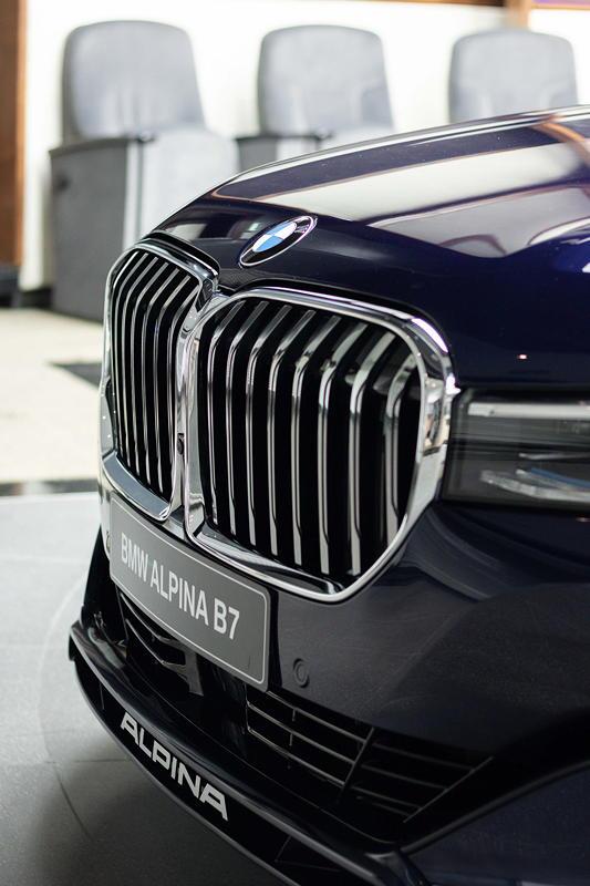 BMW Alpina B7 BiTurbo, Niere
