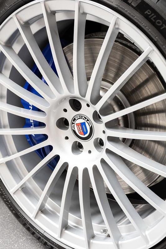 BMW Alpina B7 BiTurbo, 21 Zoll Alpina -Rad