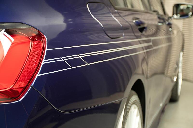 BMW Alpina B7 BiTurbo, seitliches Alpina Dekor